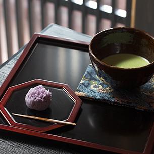 やなぎ庵抹茶と和菓子セット